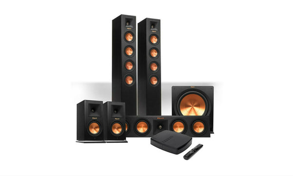 Reference Premiere 5.1 HD Wireless System-Speakers-Klipsch-Starpower Home Theater