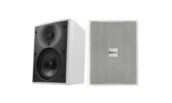 Revel Extreme Climate Outdoor Loudspeakers (Pair) - M55XC - White-Speakers-Revel-Starpower Home Theater
