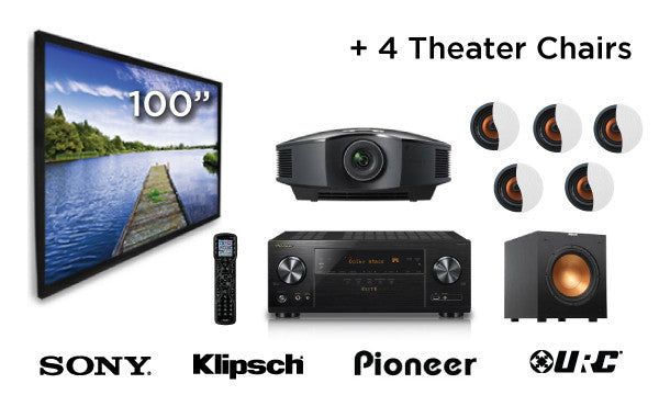 """The Starting Line-Up"" Home Theater System-Home Theater Package-Starpower Home Theater-Starpower Home Theater"