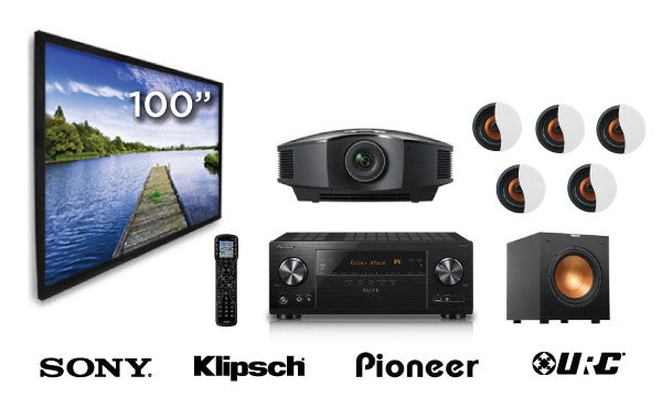 """The Home Run"" Home Theater System-Home Theater Package-Starpower Home Theater-Starpower Home Theater"