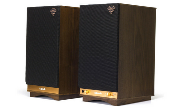 Klipsch The Sixes Bookshelve Bluetooth Speakers - THE SIXES-Speakers-Klipsch-Starpower Home Theater