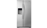 Whirlpool 21 cu. ft. Counter Depth Side-by-Side Refrigerator - WRS571CIDM-Refrigerator-Whirlpool-Starpower Home Theater