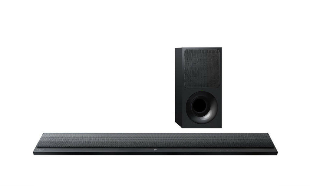 2.1 Ch. Black Sound Bar With Wireless Subwoofer - HTCT390-Sound Bars-Sony-Starpower Home Theater