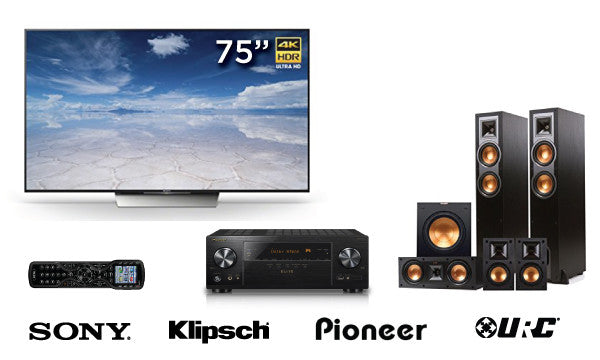 """The Starting Line-Up"" System-Media Room Package-Starpower Home Theater-Starpower Home Theater"