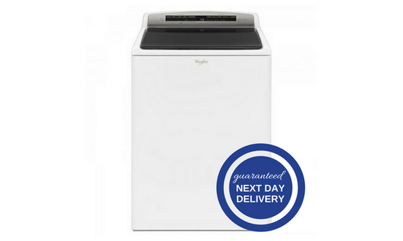 Whirlpool 4.8 Cu. Ft. HE White Top Load Washer - WTW7500G-Appliances-Whirlpool-Starpower Home Theater