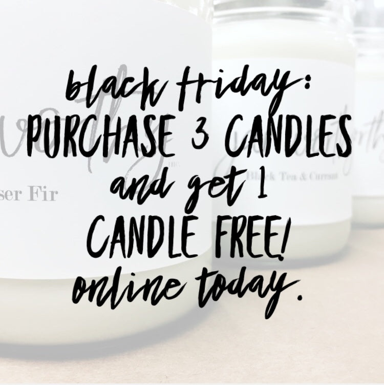 Let us BRIGHTEN your BLACK FRIDAY