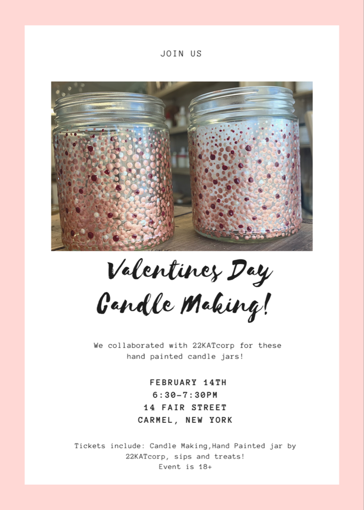 Valentine's Day Candle Making