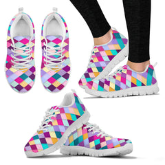 Diamond Quilt Sneakers