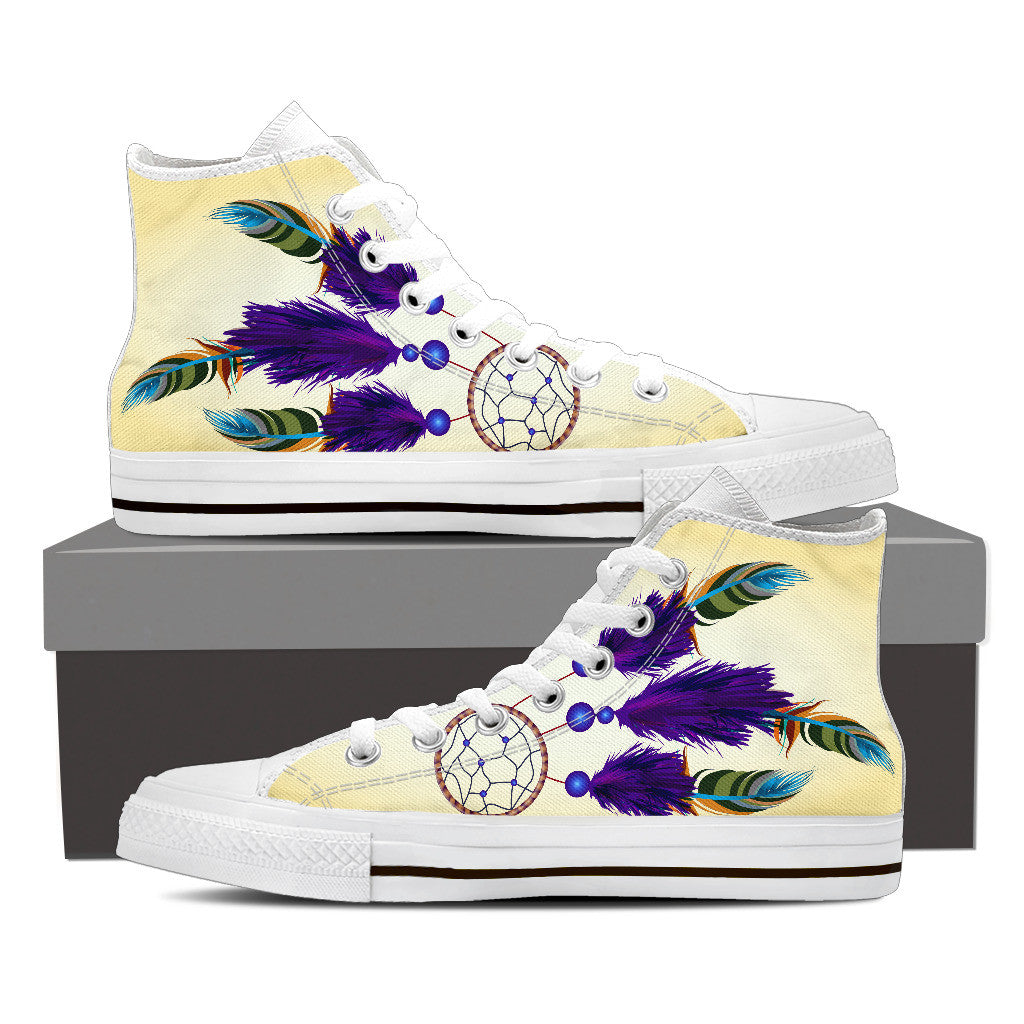 Women's Dreamcatcher High-Top Canvas Shoe