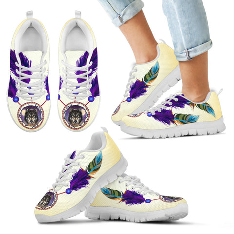 Image of Kid's Wolf Dreamcatcher Sneakers