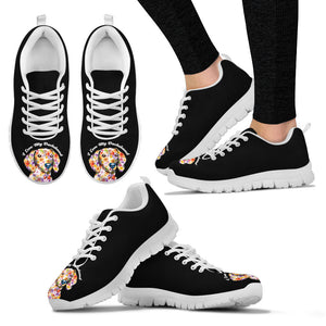 Women's Dachshund Sneakers