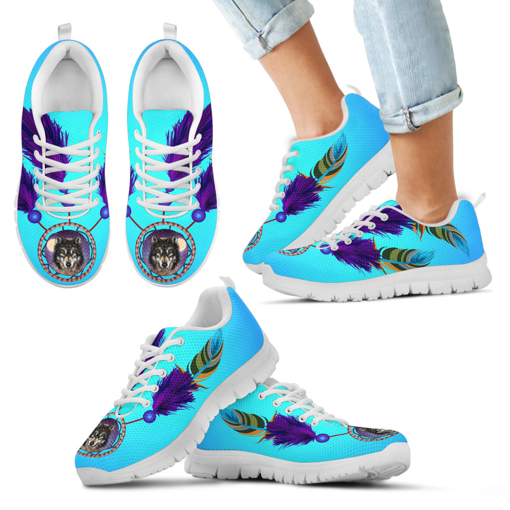 Kid's Wolf Dreamcatcher Sneakers