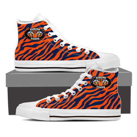 Image of Auburn Tigers Hightop Sneakers