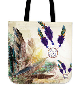 Multi-color Dreamcatcher Tote
