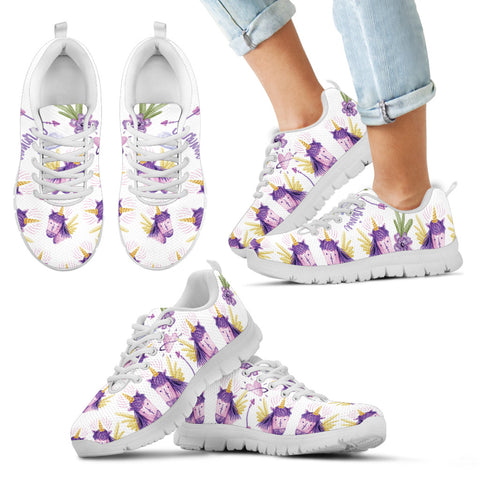 Image of Kid's Happy Unicorn Sneakers