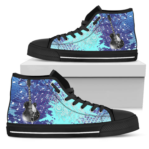 Guitar High Top Sneakers
