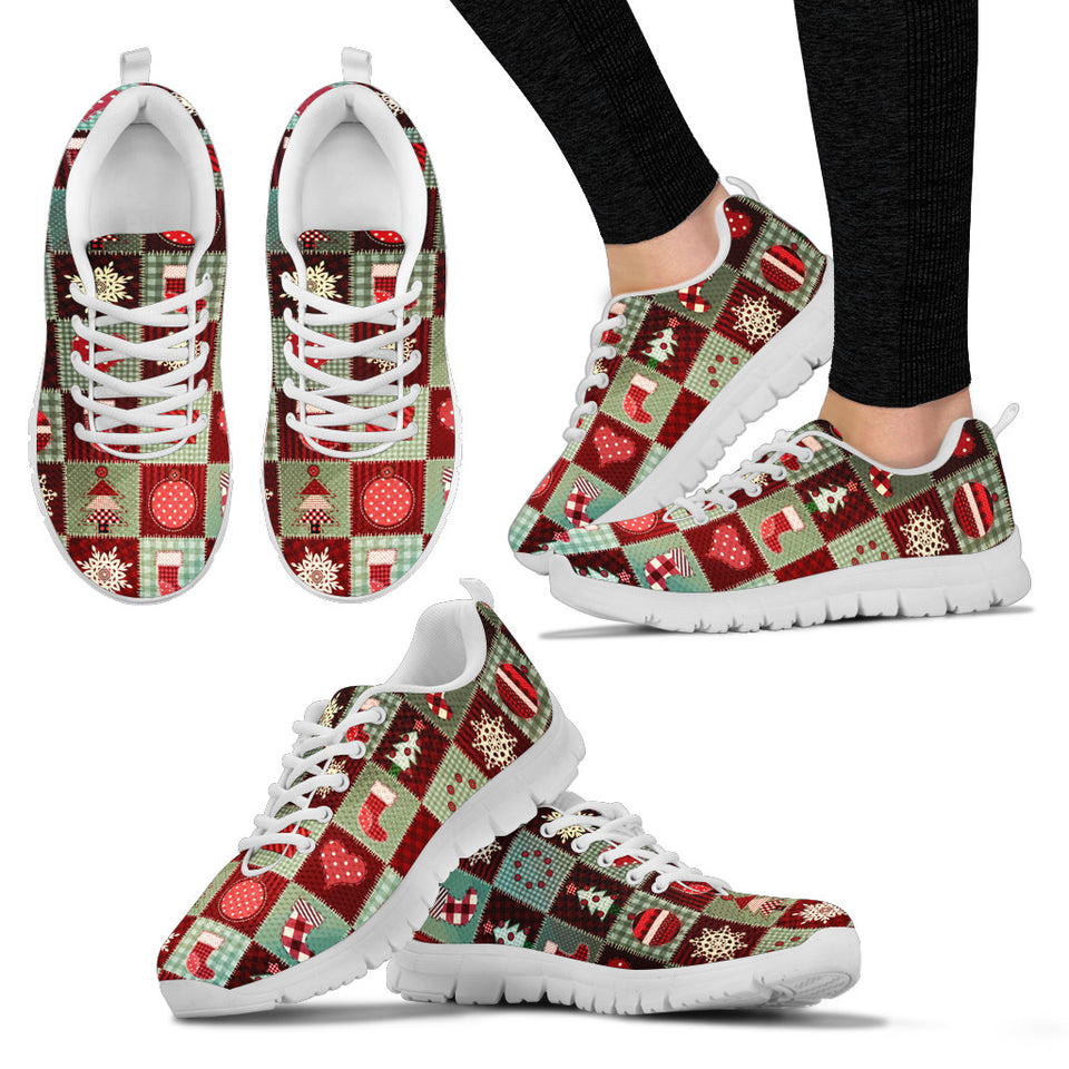 Christmas Quilt Sneakers