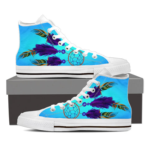 Image of Women's Dreamcatcher High-Top Canvas Shoe