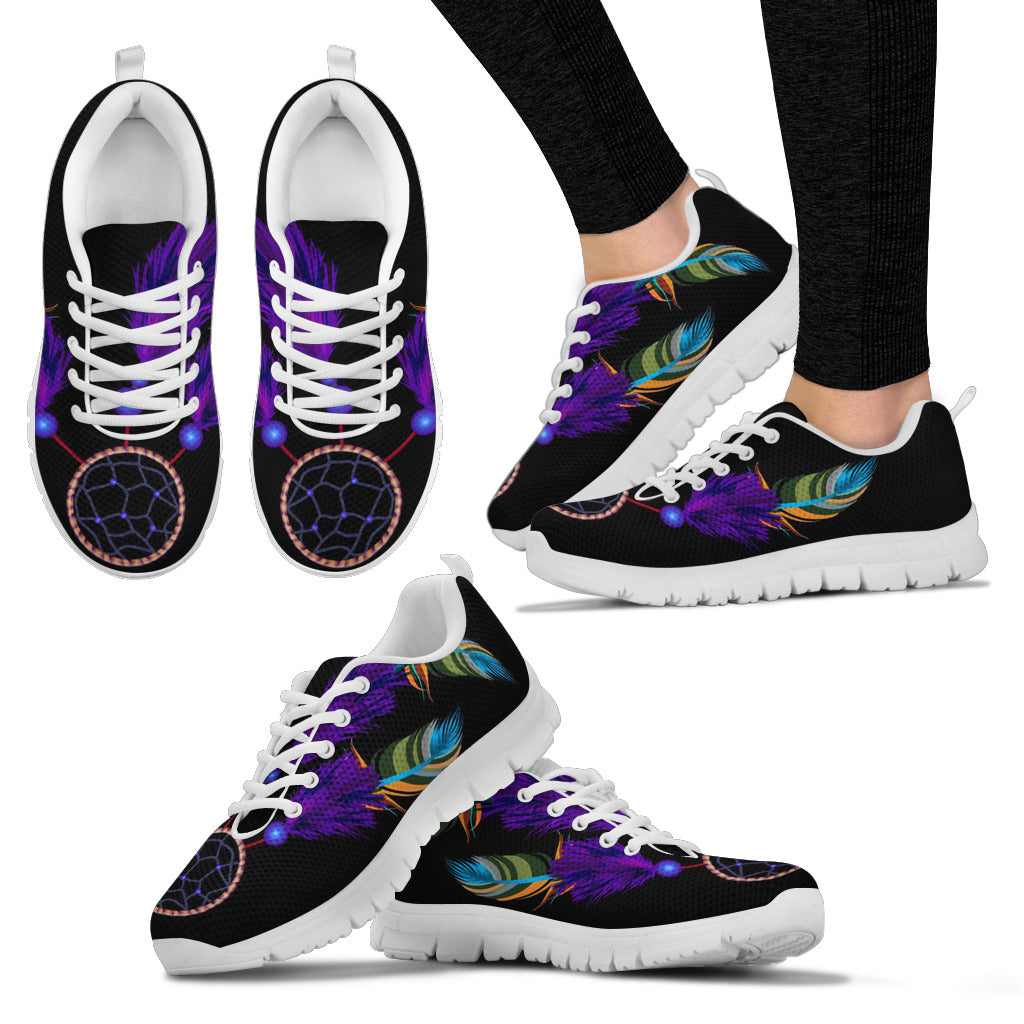 Black Dreamcatcher Sneaker