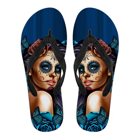 Image of Tattooed Girl Flip Flops
