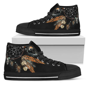 Women's Feather Dreamcatcher High Top