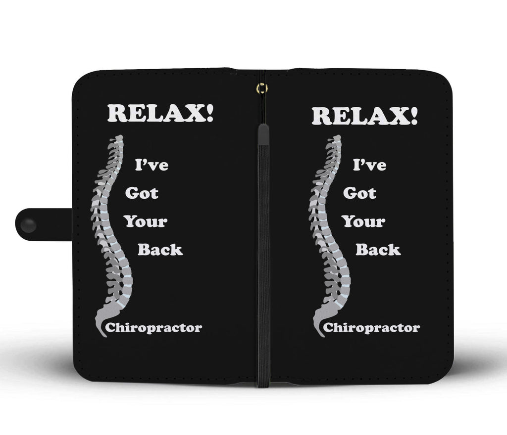 Chiropractor Wallet Phone Case