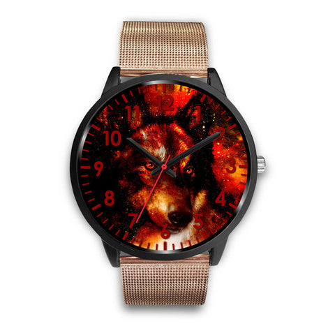 Red Galaxy Wolf Watch