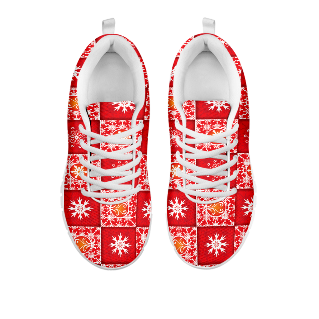Red Quilt Sneaker