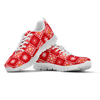 Image of Red Quilt Sneaker