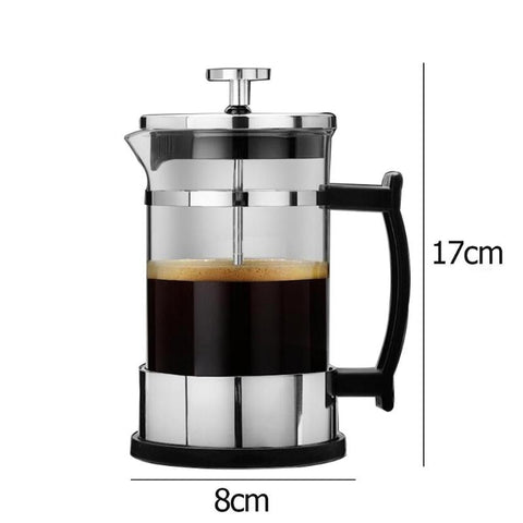 Manual French Press Coffee Maker