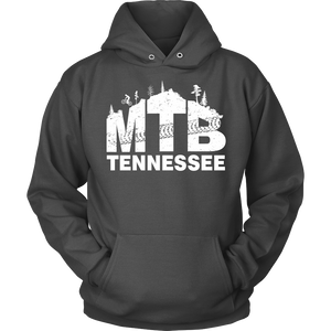 Mountain Biking Unisex Hoodie - Tennessee