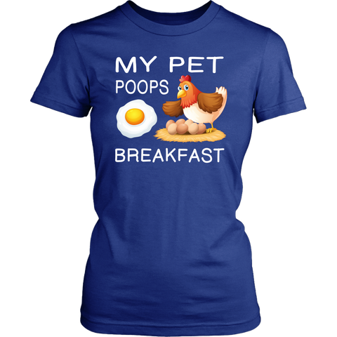 My Pet Poops Breakfast t-shirts