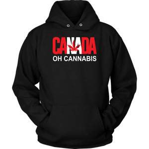 Oh Cannabis Canada Unisex Weed Hoodie