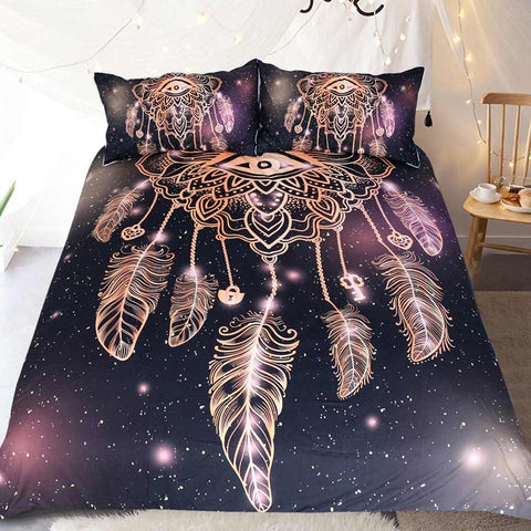 Dreamcatcher Eye Bedding Duvet Cover Set