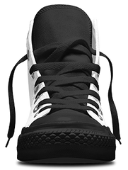 Pitbull Hightop Women's Shoe - Black