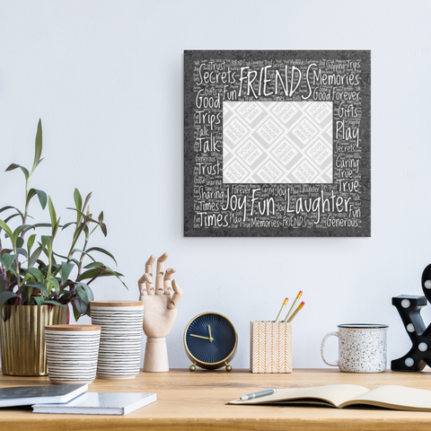 Friends Personalized Photo Canvas and Frame