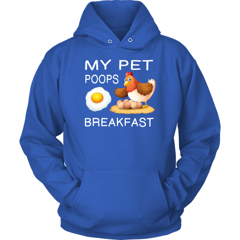 Image of My Pet Poops Breakfast Hoodie