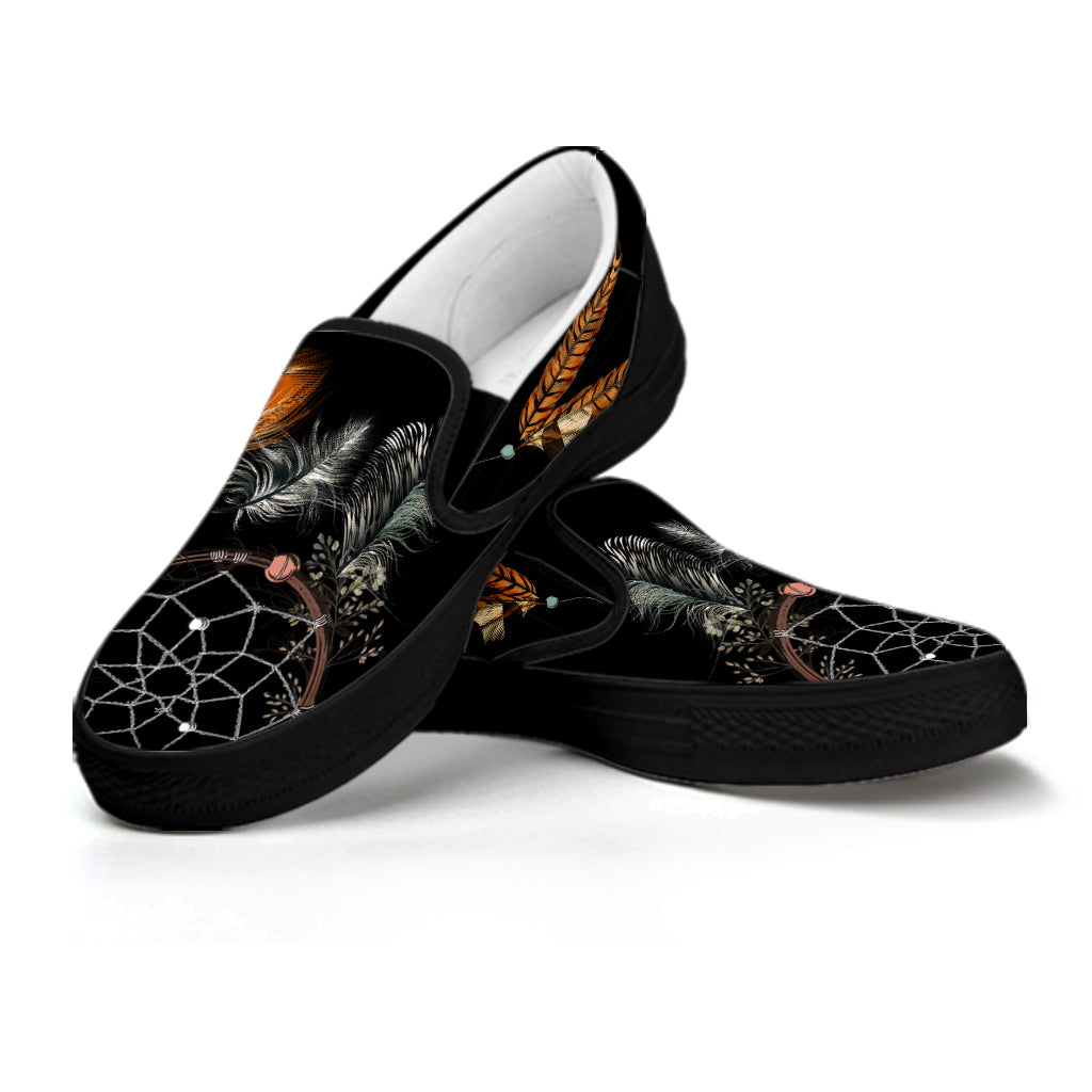 Women's Feather Dreamcatcher Slip Ons