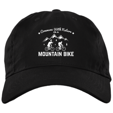 Image of Commune With Nature Brushed Twill Unstructured Dad Cap