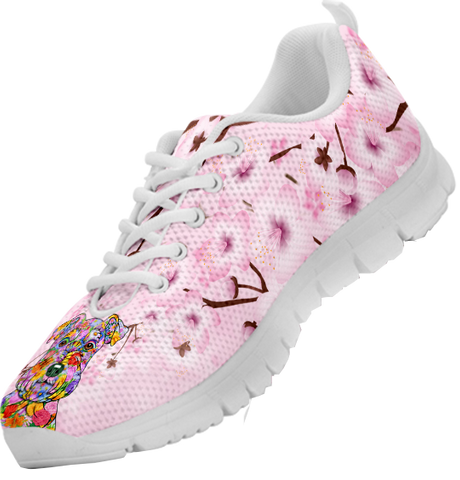 Image of Flower Art Schnauzer Sneaker