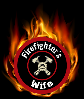 Image of Blue Fire Firefighter's Wife Sneaker