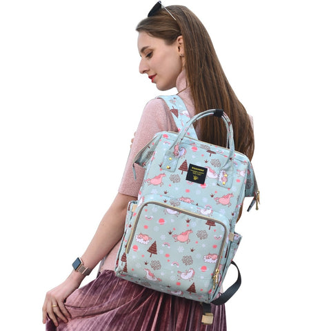 Image of Large Capacity Designer Diaper Bag