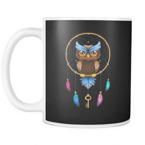 Image of Dreamcatcher Owl Coffee Mug