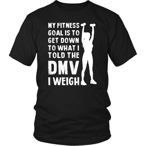 Image of My Fitness Goal Unisex T-shirt