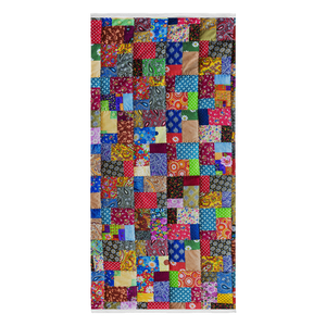 Colorful Quilt Beach Towel
