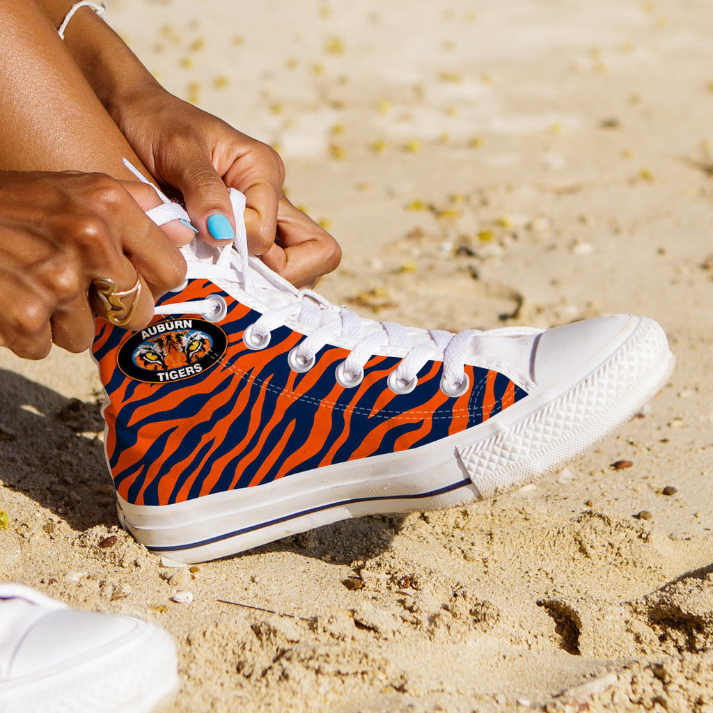 Auburn Tigers Hightop Sneakers