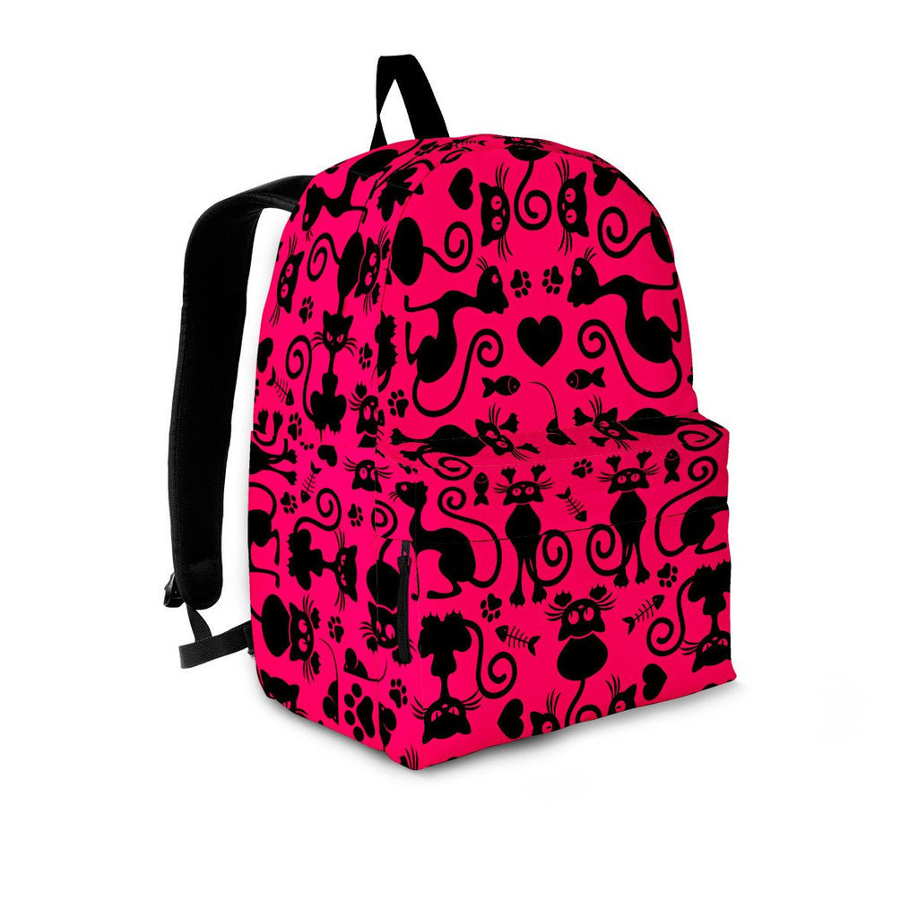 Cats Pink Backpack