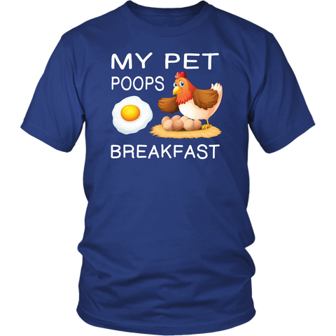 Image of My Pet Poops Breakfast t-shirts