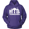 Image of Mountain Biking Unisex Hoodie - Tennessee