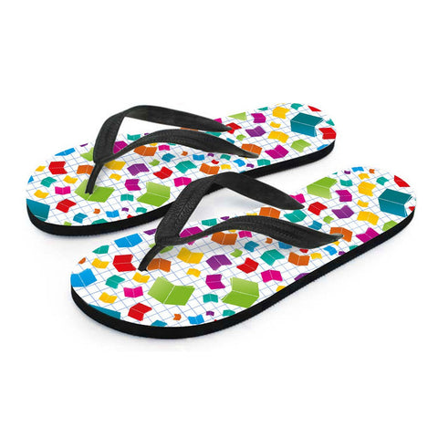Image of Books Flip-Flops